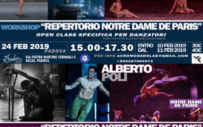 Repertorio Notre Dame de Paris – Workshop